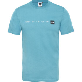 The North Face Never Stop Exploring SS Tee Herren storm blue